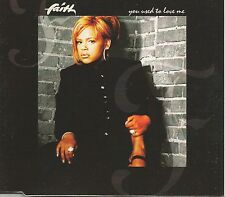 FAITH EVANS You Used to Love me w/ 2 RARE CLUB MIXES CD single SEALED 1995