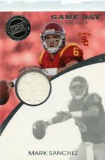 Mark Sanchez 2009 Press Pass Game Day Gear Game-Used Jersey USC Trojans