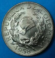 Colombia  Moneda 5 centavos 1958 UNC