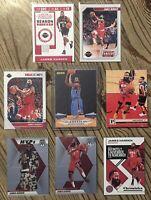 James Harden Lot w/ RC 8 Cards OKC Thunder Houston Rockets Rookie