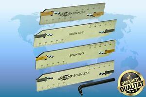 Abstechschwert Kompatibel zur Iscar DGN2/3/4..  verschiedene Höhen und Breiten