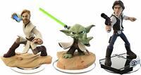Disney Infinity 3.0 Star Wars Yoda Obi Wan Kenobi Han Solo 3 Figures