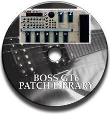 Boss Guitar & Bass Effect Pedals