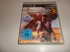 PlayStation 3 PS 3 Uncharted 3: Drake's decepción