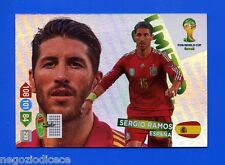 # ADRENALYN XL BRASIL 2014 LIMITED EDITION - Figurina-Sticker - SERGIO RAMOS