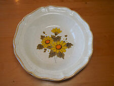 Mikasa Garden Club SUNNY SIDE EB802 Round Serving Vegetable Bowl 9 in
