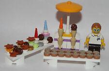 original LEGO parts - CAKE SALE - 1 MINIFIGURE & SELECTION OF CAKES some rare
