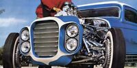 Vintage Beach Boys Little Deuce Coupe Photo POSTER 1932 Ford Hot Rod Gasser Rat