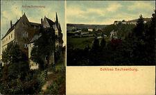 Frankenberg Sachsen 1915 Partie Schloss Sachsenburg alte AK Verlag Stohn & Mey