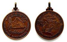 Medaglia Montagna Gemellaggio Bardonecchia-Modane 1980 - Le Città Dei Due Trafor