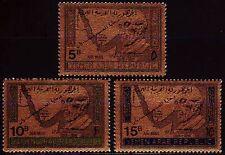 Yemen 1968 ** Mi.734/36 Adenauer mit Aufdr. with ovpt.