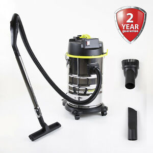 Wet and Dry Hoover Vacuum Cleaner 30L 1400W Industrial Water & Dirt Blower Vac