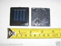2V-30 mA. Mini Solar Panel   epoxy encapsulated virtually indestructible .1watt