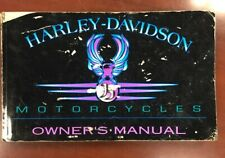 New Listing1995 Harley-Davidson Owners Manual Part No. 99466-95A