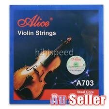 For Alice A703 Violin Strings 4/4,3/4,1/2 Size Violins String Set E A D G NEW