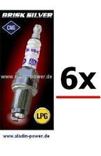 6x GAS Zündkerzen BMW E90 E91 E92 E93 E60 E61E83 E85 1er 3er 5er X3 X5 Z4 * LPG