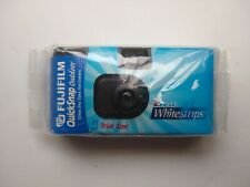 Fujifilm Quicksnap Outdoor Usa e Getta 35mm fotocamera Crest Whitestrips dimensioni di prova