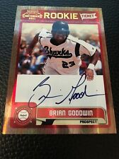 Brian Goodwin Nationals  2011 Playoff Contenders Rookie Ticket Auto #RT36
