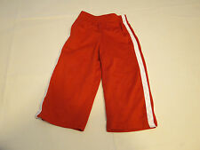 The Children's Place active pants 24 M baby boys NWT red white Athletics Dept