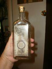 Reproduction 1900'S Antique Style Sunflower Oil Medicine Bottle Cork Stopper