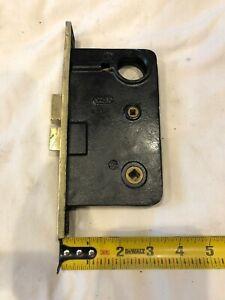 Antique Sager mortise lock restored