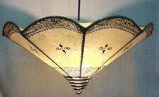 Ceiling wave Moroccan Henna Lamp- - cream  Di 40 CM