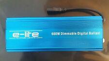E-LITE 600w Slim-Line balasto digital electrónico 600w/400w/250w Regulable