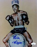 Emile Griffith Boxing Champ World Middleweight HOF Signed Autograph Photo JSA