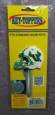 Official USF University of South Florida Bulls Football Helmet Key Topper Cover