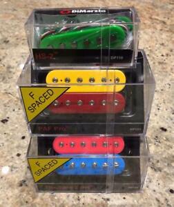 Dimarzio JASON BECKER Custom Colour Set Tone Zone PAF Pro HS-2 Carvin Numbers