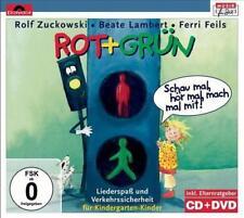 Rot+Grün-Schau Mal,Hör Mal,Mach Mal Mit! von Lambert,Beate,Rolf Zuckowski und seine Freunde,Ferri Feils,Beate Lambert,Zuckowski,Rolf,Feils,Ferri (2009)