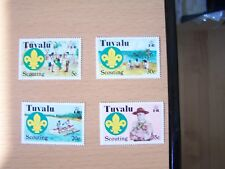 Tuvalu,1977, Scout Set. 4 Vals.U/M,Excellent.
