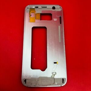 Samsung Galaxy S7 SM-G930  SILVER Middle Housing Frame Bezel Mid Chassis