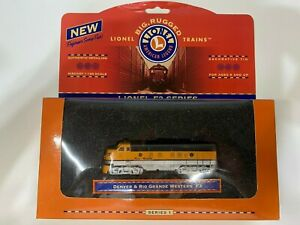 Lionel F3 Series Collectible Tin - Denver & Rio Grande Western O3005