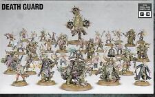 Warhammer 40K Dark Imperium La Muerte Protector Ejército 31 Modelos plaga Marines fétida