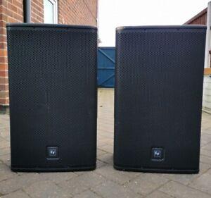 "ELECTRO-VOICE EV ELX-115 PASSIVE 15"" SPEAKERS DJ BAND PA"
