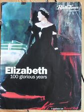 RADIO TIMES AUGUST 2000 ELIZABETH 100 GLORIOUS YEARS ASSOCIATION WITH ROYAL MAIL