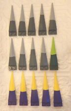 Original LEGO Wings Propellers Rubber Tip Two Tone Replacement Parts Pieces LOT