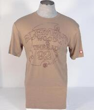 Element Lightweight Brown Short Sleeve Tee T Shirt Mens Extra Large XL NWT