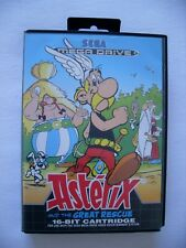 Astérix and the great rescue jeu Sega Mega Drive version PAL - bon état
