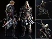 Play Arts Kai Assassin's Creed Black Flag Edward Kenway Action Figurine No Box