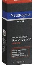 Neutrogena Triple Protect Face Lotion for Men SPF 20 Size 1.7 Oz, Exp.03/22