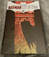 Batman: City of Crime Deluxe Edition by David Lapham (2020, Hardcover) NM
