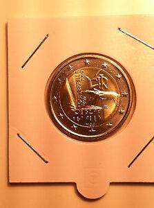2 EURO ITALIE 2009 LOUIS BRAILLE COMMEMORATIVE NEUVE