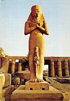 B95574 egypt africa luxor statue of phrao pinutem postcard