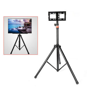 """Universal Flat Panel TV Tripod Portable Foldable TV Stand with Mount for 18""""-32"""""""