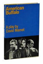 American Buffalo ~ SIGNED by DAVID MAMET ~ First Edition 1st 1978 Hardcover