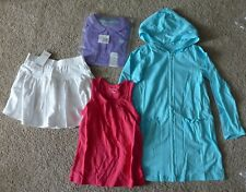 NWT Gymboree Lands End Girl Swim Cover-Up, Tank Top, Shirt, Skort Lot - Size 6