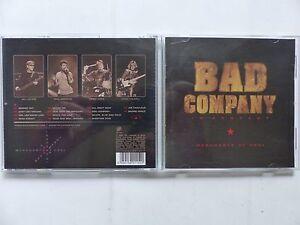 CD ALBUM BAD COMPANY In concert Merchants of cool SANCD115