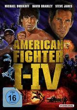 American Fighter 1 - 4 (Ninja) Michael Dudikoff                        DVD   043